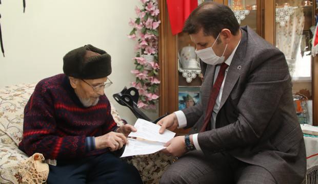 Sivaslı hayırsever Feyzullah amca cami yapımı için 5 milyon 300 bin TL bağış yaptı!