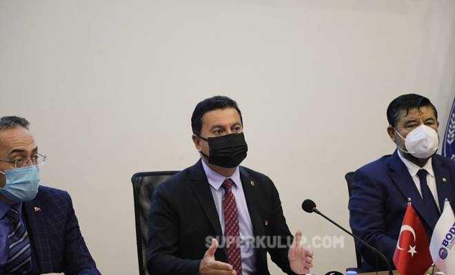 ahmet aras - Bodrum Belediye Başkanı Ahmet Aras, Mustafa Üstündağ'ı yerden yere vurdu