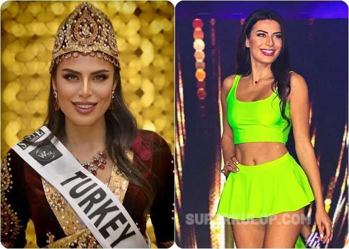 Türk Güzeli Duygu Çakmak Miss Europe 2021'de üçüncü oldu