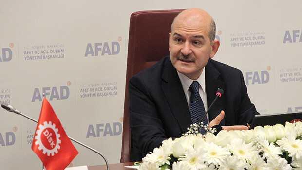 İçişleri Bakanlığı ile DİSK ve spor federasyonları arasında afetlere hazırlık eğitimi protokolü