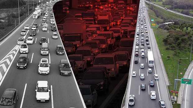 Son dakika… İstanbul'dan 'tam kapanma' göçü devam ediyor! Trafik yoğunluğu yüzde 51'i aştı..