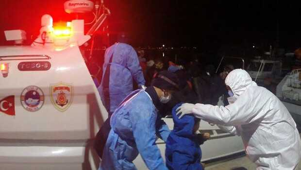 Yunanistan tarafından ölüme itilen 137 sığınmacıyı Türkiye kurtardı