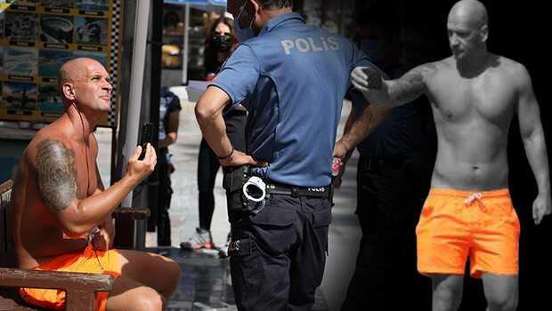 Antalya'da ilginç anlar… Turistten ahlaksız teklif! Gözaltına alındı