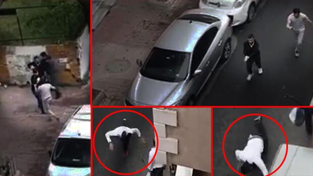 Beyoğlu'nda dehşet anları! Sokak ortasında terör estirdiler