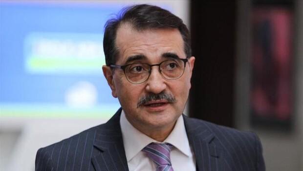 Enerji ve Tabii Kaynaklar Bakanı Fatih Dönmez: