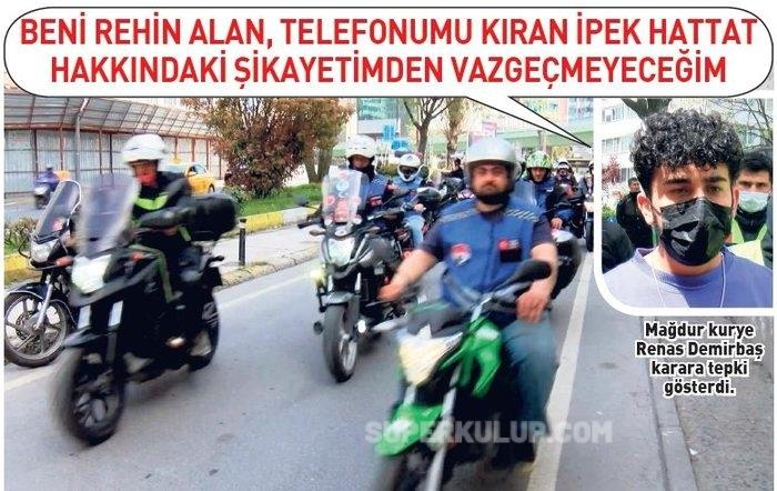 renas demirbas - Mahkemenin İpek Hattat kararına kuryeler isyan etti!