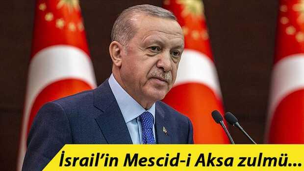 Son dakika haberi… Cumhurbaşkanı Erdoğan'dan Filistin için diplomasi trafiği