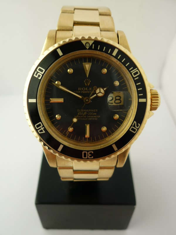 Rolex Submariner 1680 18ct 1978