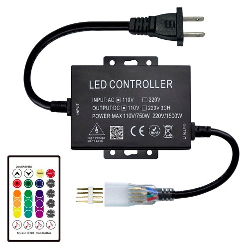 small resolution of ac110 220v 1500w rf 24keys music controller for stage lighting bar lighting