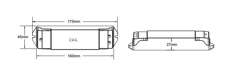 0/1-10V Constant Voltage LED Dimmer LV-L For led lights