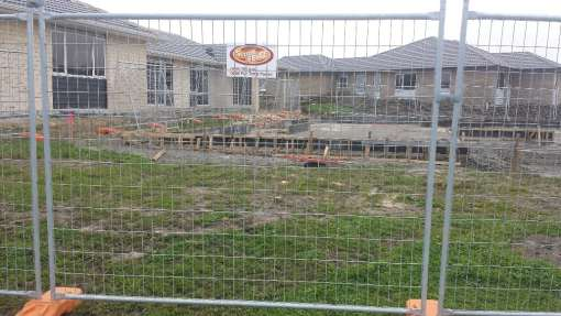 Superfence temporary fencing