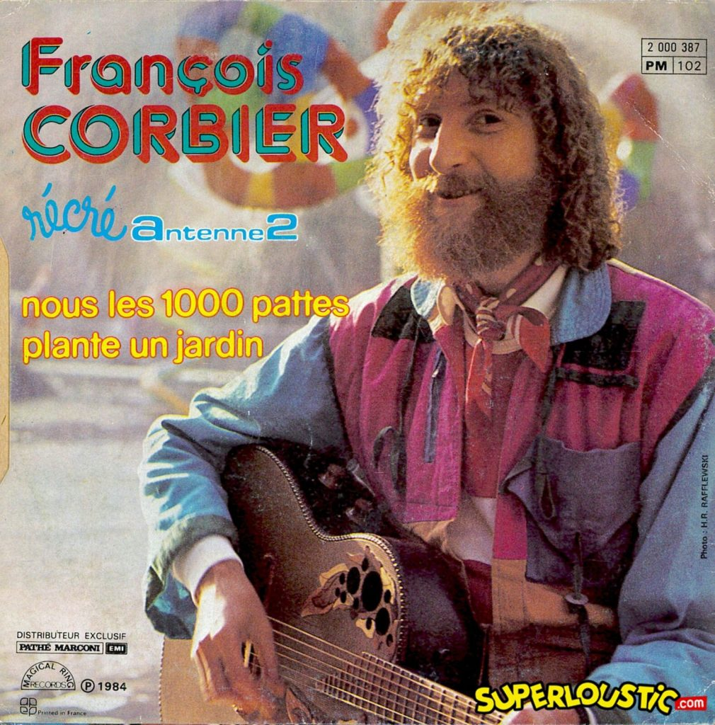 François Corbier – Nous les 1000 pattes