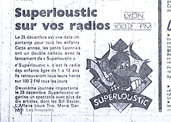 Superloustic dans vos radios