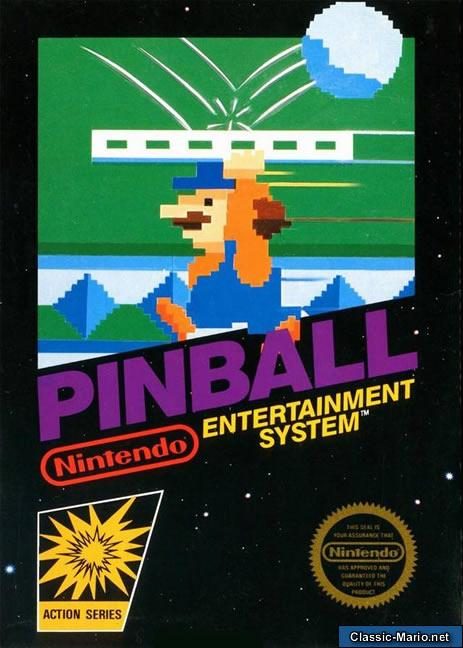 Image result for pinball nes box