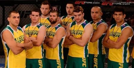 Australianos já participaram da edição 'The Smashes' do TUF. Foto: georgesots.com