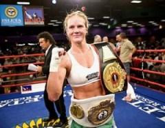 H. Holm (foto) abandona o Boxe e mira em duelo contra R. Rousey no UFC. Foto: Reprodução / Tumblr