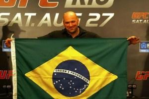 UFC planeja evento no Brasil para o dia 15 de novembro