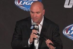 Dana White confirmou a quarta-feira como data para a maioria dos cards do UFC. Foto: YouTube/Reprodução
