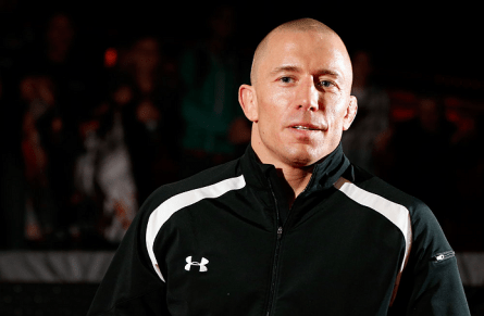 Saída de GSP (foto) mexeu com o ranking do Ultimate  . Foto: Josh Hedges/UFC