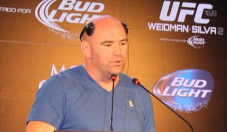 Dana White quer que 13 dos 35 eventos do UFC em 2014 sejam no Brasil. Foto: Lucas Carrano/Super Lutas