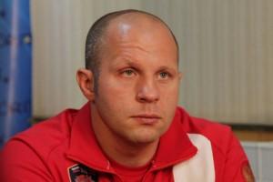 F. Emelianenko (foto) não gostou das lutas de MMA infantis. Foto: Divulgação