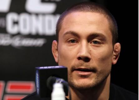 M. Pierce (foto) criticou Toquinho pelo excesso na finalização. Foto: Josh Hedges/UFC