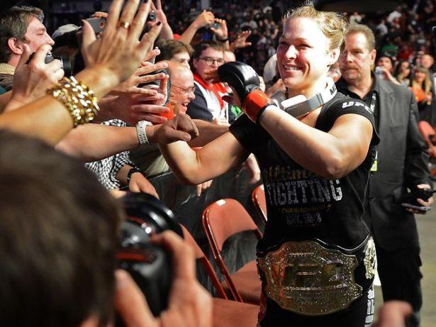 Ronda Rousey: UFC Women's Bantamweight Champion