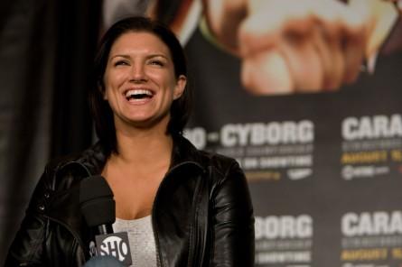 Carano (foto) está na mira do UFC. Foto: Divulgação/Strikeforce