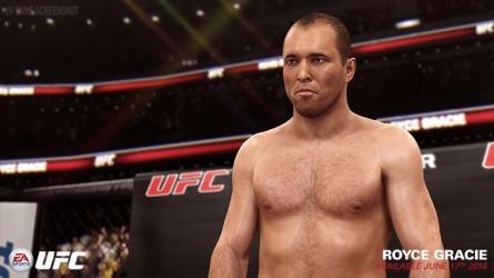 Gracie estará no jogo EA Sports UFC. Foto: Divulgação/EA Sports