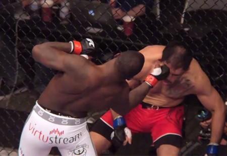 Nocaute de Johnson sobre Minotouro foi um dos destaques do UFC on FOX 12. Foto: Reprodução