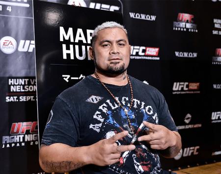 M. Hunt (foto) fará seu segundo evento principal consecutivo no UFC. Foto: Keith Tsuji//UFC