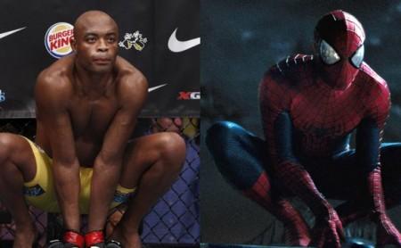 A. Silva e Homem-Aranha. Dá para confundir? Foto: Produção MMA Press