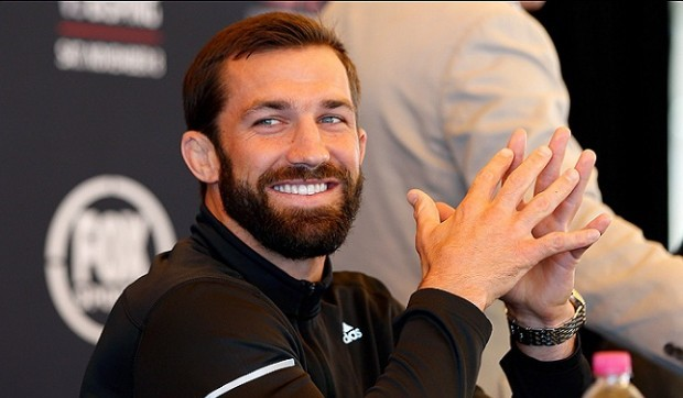 L. Rockhold (foto) vai iniciar carreira de modelo. Foto: Josh Hedges/UFC