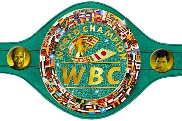 Cinturão milionário será dado ao vencedor de Pacquiao x Mayweather. Foto: Divulgação/WBC