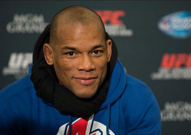 H. Lombard (foto) quer enfrentar V. Belfort Foto: Josh Hedges/UFC