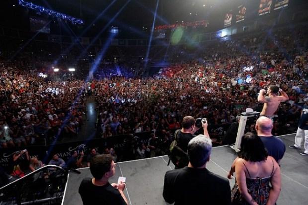 Apesar de atrativas para o público, as pesagens no MMA são alvo de grande polêmica. Foto: Divulgação/UFC