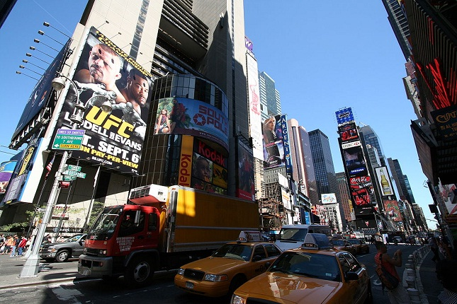 A cidade Nova York é o maior sonho de consumo do UFC. Foto: Reprodução