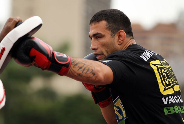 F. Werdum (foto) ainda não tem data para voltar ao octógono. Foto: Josh Hedges/UFC