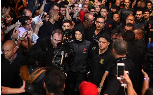 Ronda (foto) foi a maior estrela do UFC 190. Foto: Jeff Bottari/UFC