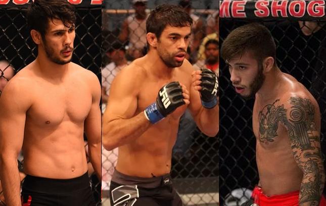 Korea, Cabral e Nicolau (foto) vão estar no card do UFC SP. Foto: Produção SUPER LUTAS (Josh Hedges/UFC)