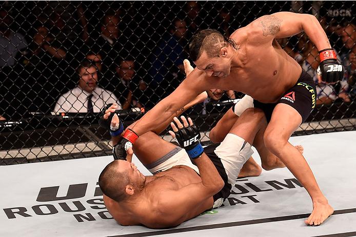 Belfort bateu Henderson na luta principal em SP. Foto: Divulgação/UFC