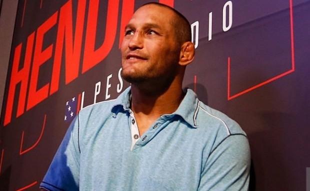Hendo (foto) é o atleta mais velho do UFC. Foto: Alexandre Schneider/UFC