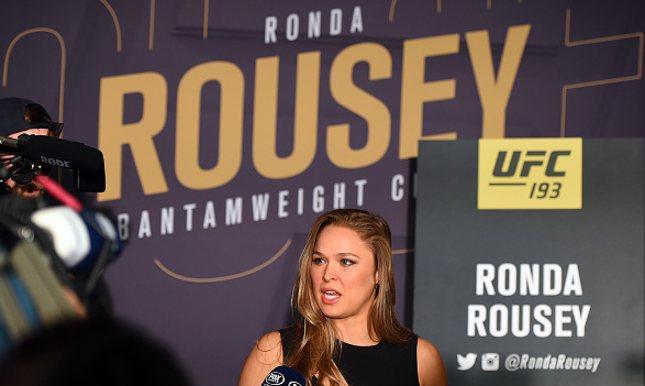 Ronda é o centro das atenções no UFC 193. Foto: Brandon Magnus/UFC