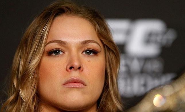 Ronda (foto) perdeu para Holm em novembro. Foto: Josh Hedges/UFC