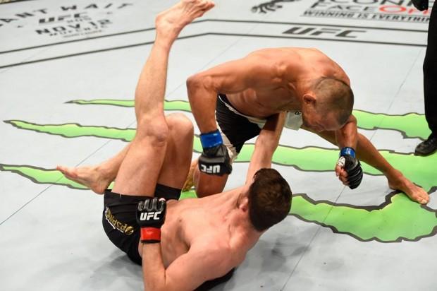 Henderson e Bisping fizeram a luta principal do UFC 204. Foto: Divulgação
