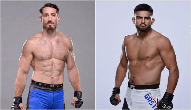 Kennedy (esq) e Gastelum (dir) vão se enfrentar no card principal do UFC 206. (Foto: Produção SUPER LUTAS (Divulgação/UFC)
