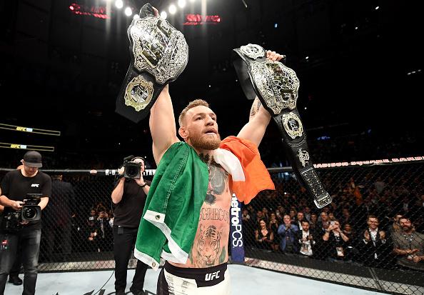 McGregor assumiu o segundo lugar no ranking peso por peso (Foto: Getty Images)