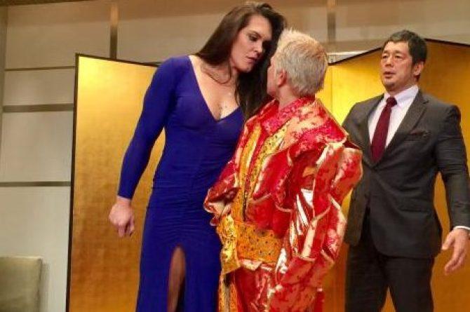 G. Garcia (esq) vai enfrentar Kandori (dir), de 52 anos. (Foto: Reprodução / Divulgação)