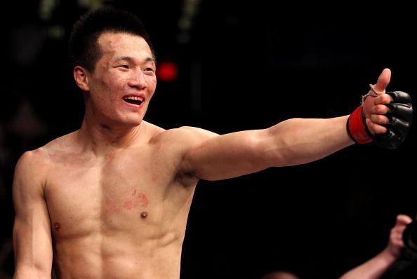 Ex-desafiante, C. Sung Jung retorna após mais de três anos afastado do esporte. (Foto: Getty Images)