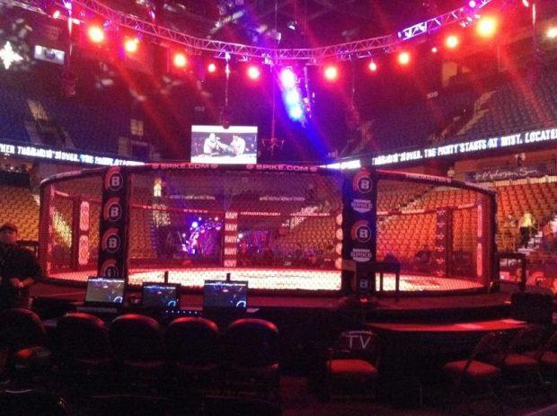 Bellator realiza maior edição 174 neste sábado. Foto: Reprodução / Twitter / Bellator MMA